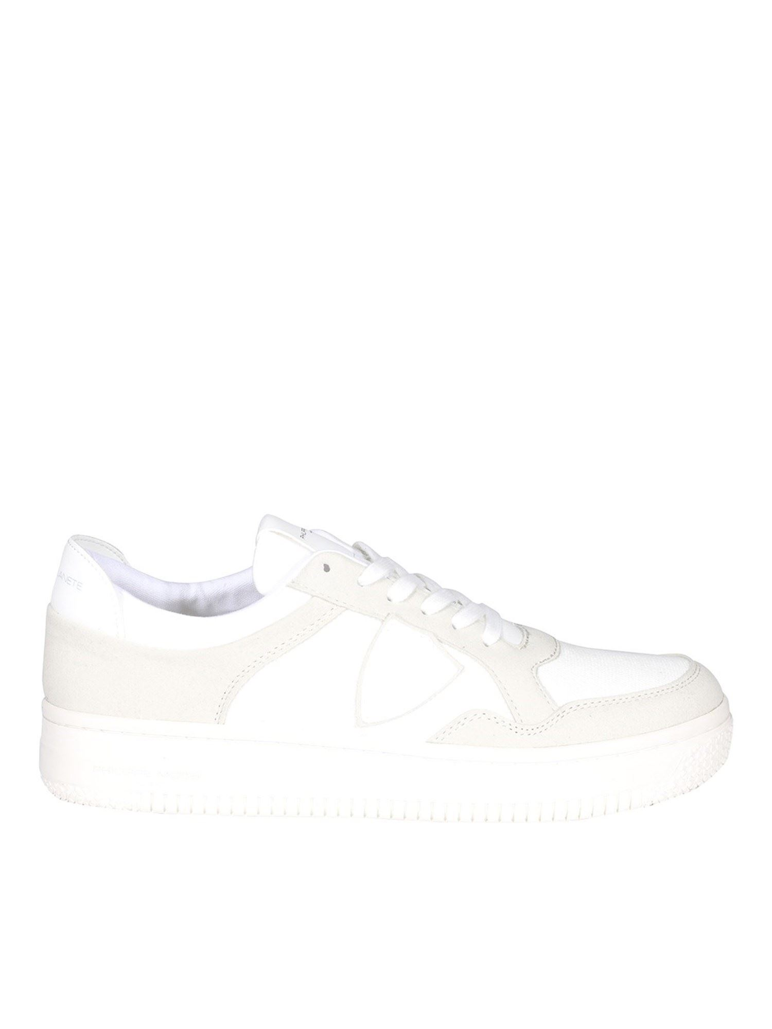 Philippe Model Low tops LYON COTON ECO-FRIENDLY SNEAKERS IN WHITE