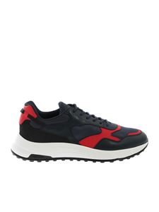 Hogan - Hyperlight sneakers in blue and red