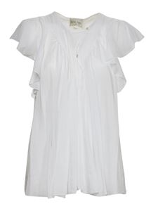 Forte Forte - Loose fit top in white