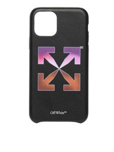 Off-White - Cover iPhone 11 Pro Gradient Arrow nera