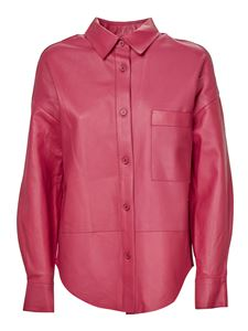 S.W.O.R.D. - Phoebe Collection leather jacket in pink