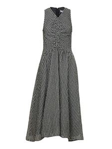 Proenza Schouler - Geo Broderie Anglaise dress in black