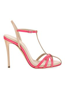 Casadei - Open-toe sandals in fuchsia