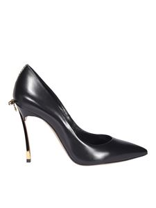 Casadei - Blade pumps in black