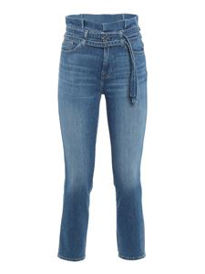 7 For All Mankind - Paperbag jeans in blue