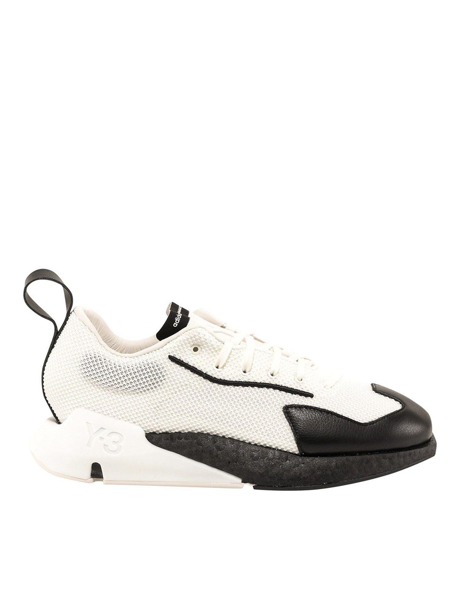 Y-3 Shoes ORISAN SNEAKERS IN WHITE AND BLACK
