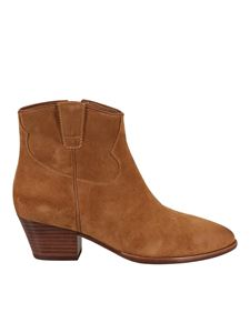 Ash - Houston ankle boots in camel color