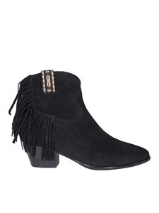 Ash - Hysteria suede ankle boots
