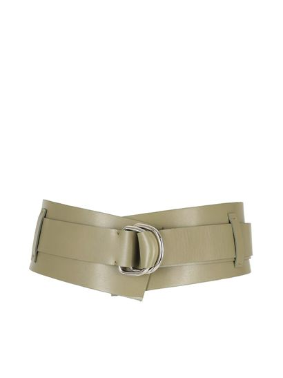 Federica Tosi - Buckled leather belt