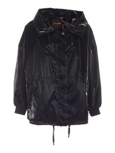 Moorer - Fiona jacket in black