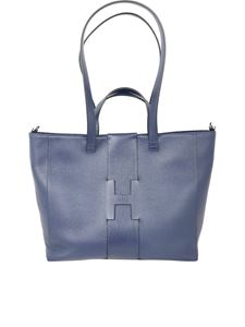 Hogan - Pebbled leather tote bag