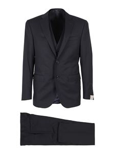 Corneliani - Three-piece suit in blue