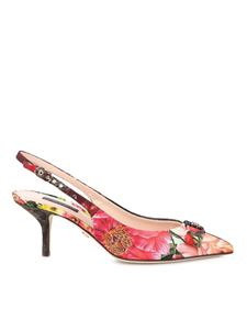 Dolce & Gabbana - Patchwork slingback in multicolor