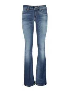 Dondup - Lola flared jeans in blue