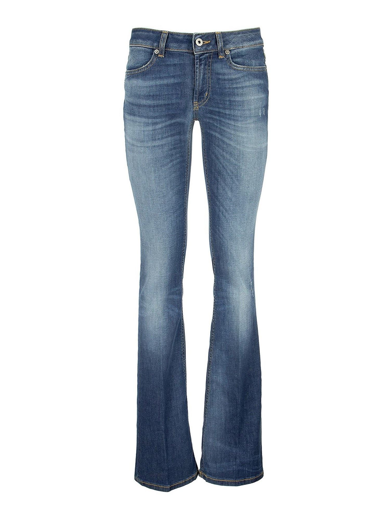 Dondup LOLA FLARED JEANS IN BLUE