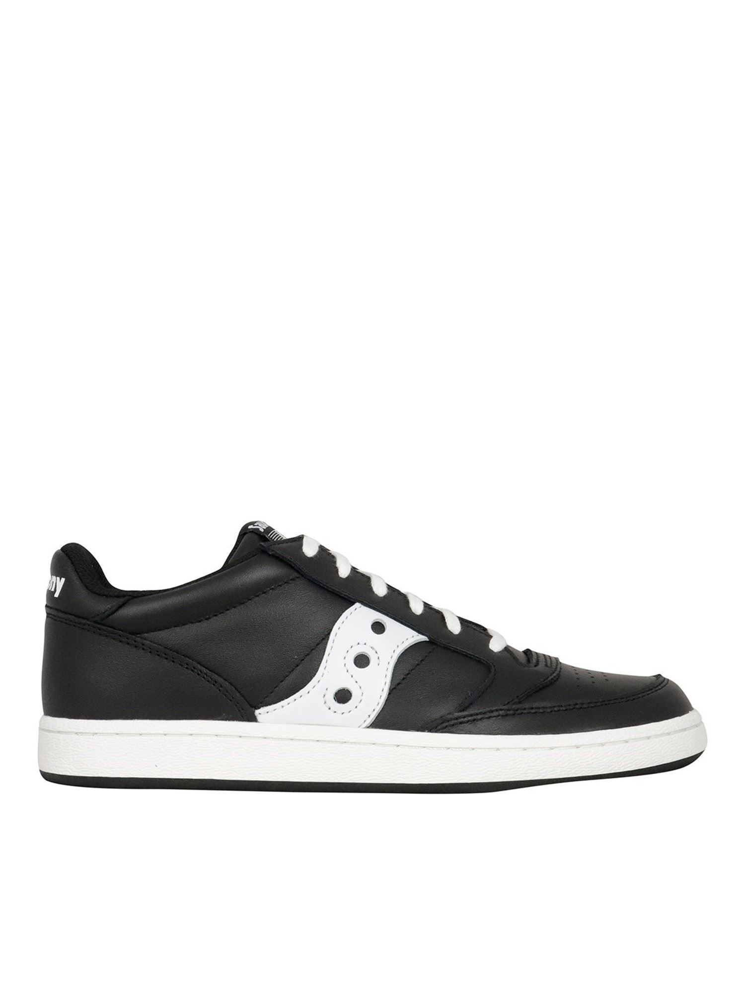 Saucony Sneakers JAZZ COURT SNEAKERS IN BLACK AND WHITE