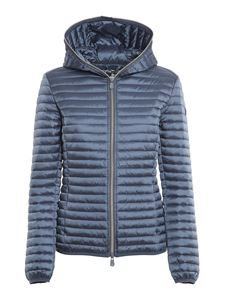 Save the duck - Alexis quilted nylon puffer jacket in blue