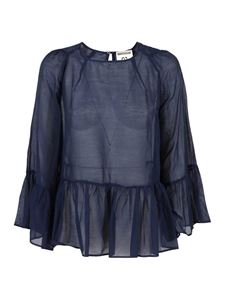 Semicouture - France blouse in blue
