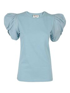 Semicouture - Adele T-shirt  in light blue