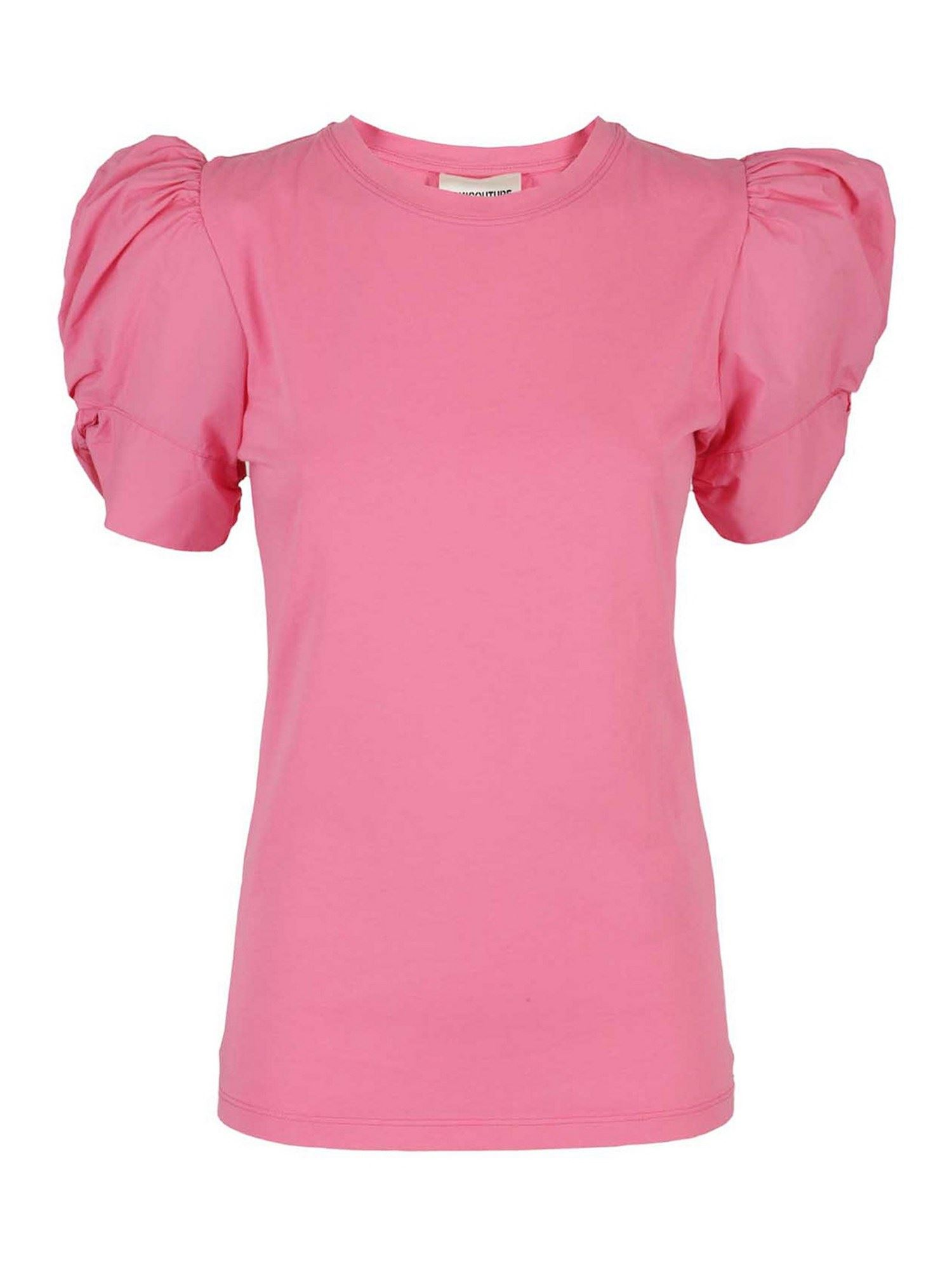 Semicouture ADELE T-SHIRT IN PINK
