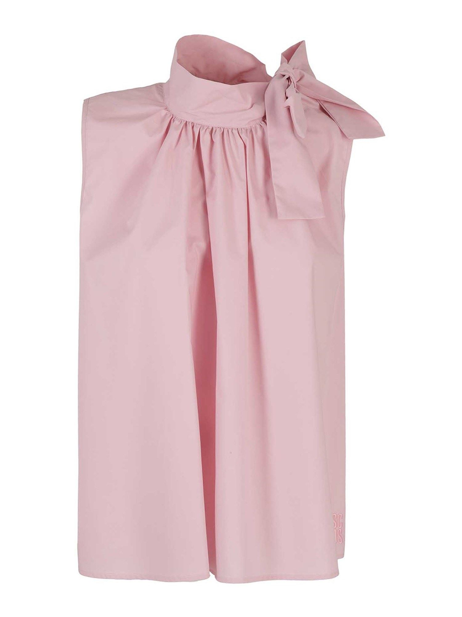 Semicouture LAURENCE TANK TOP IN PINK