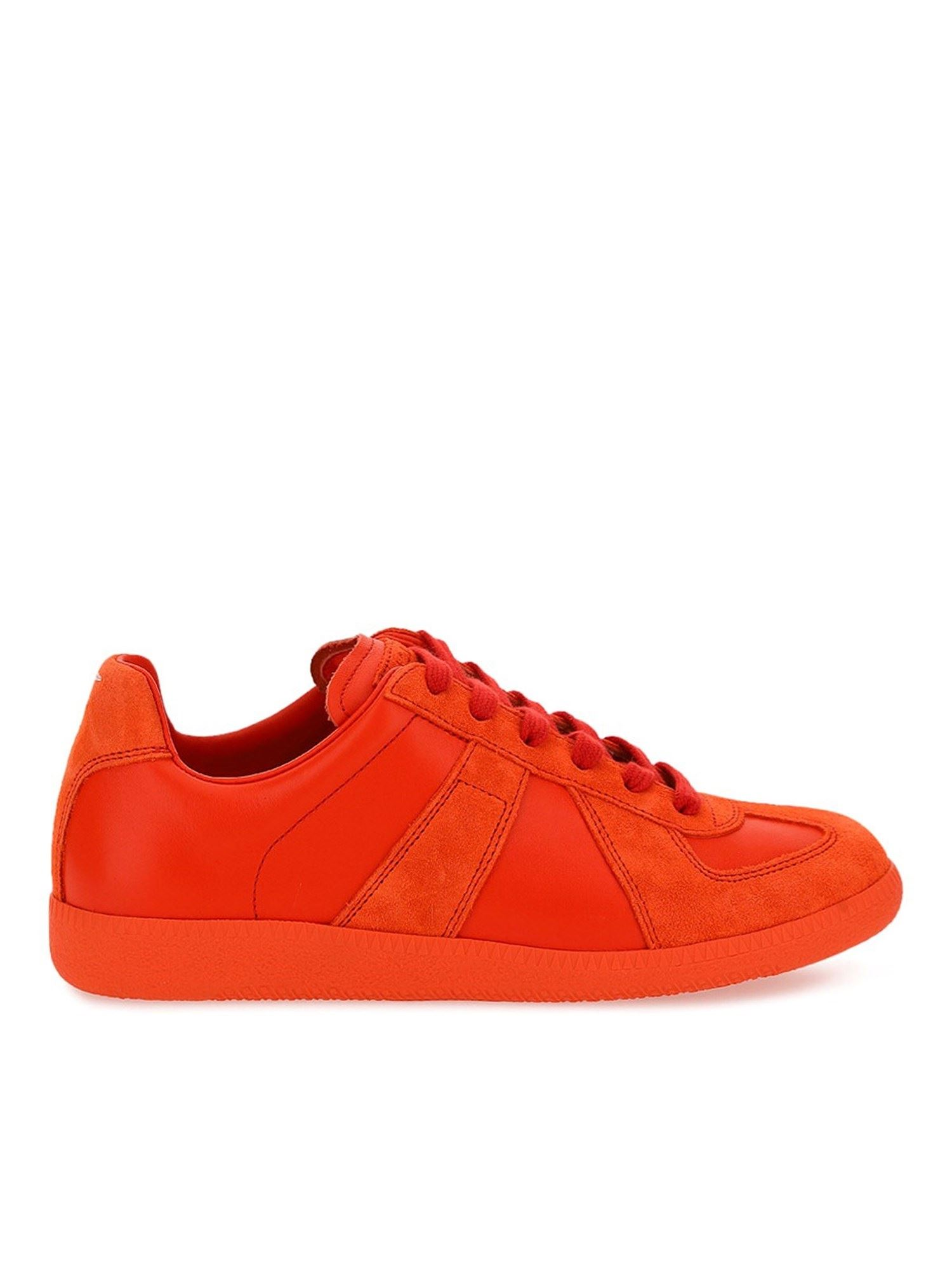 Maison Margiela REPLICA SNEAKERS IN ORANGE