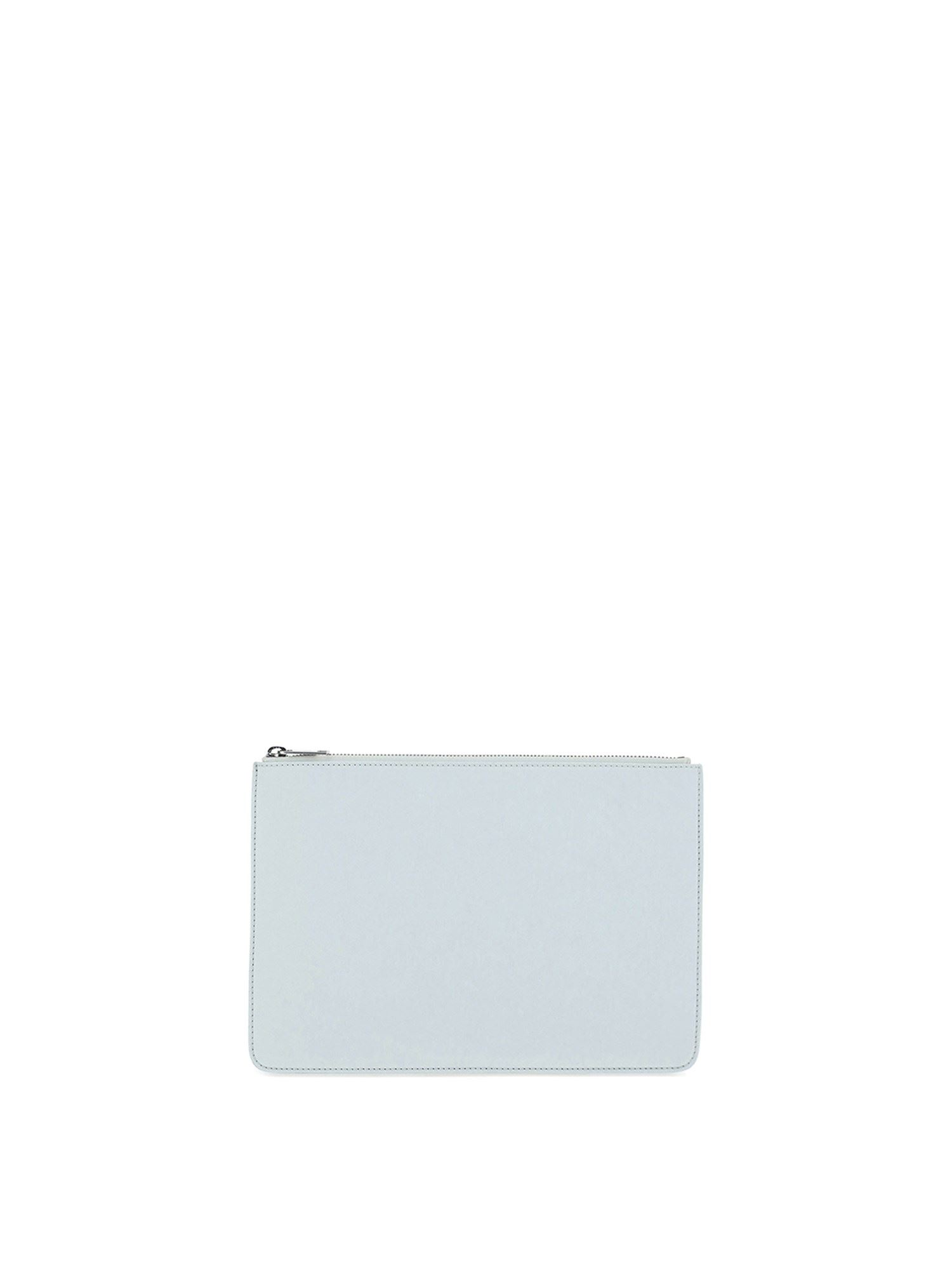 Maison Margiela LEATHER POUCH IN WHITE