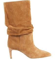 Paris Texas - Slouchy boots in camel color