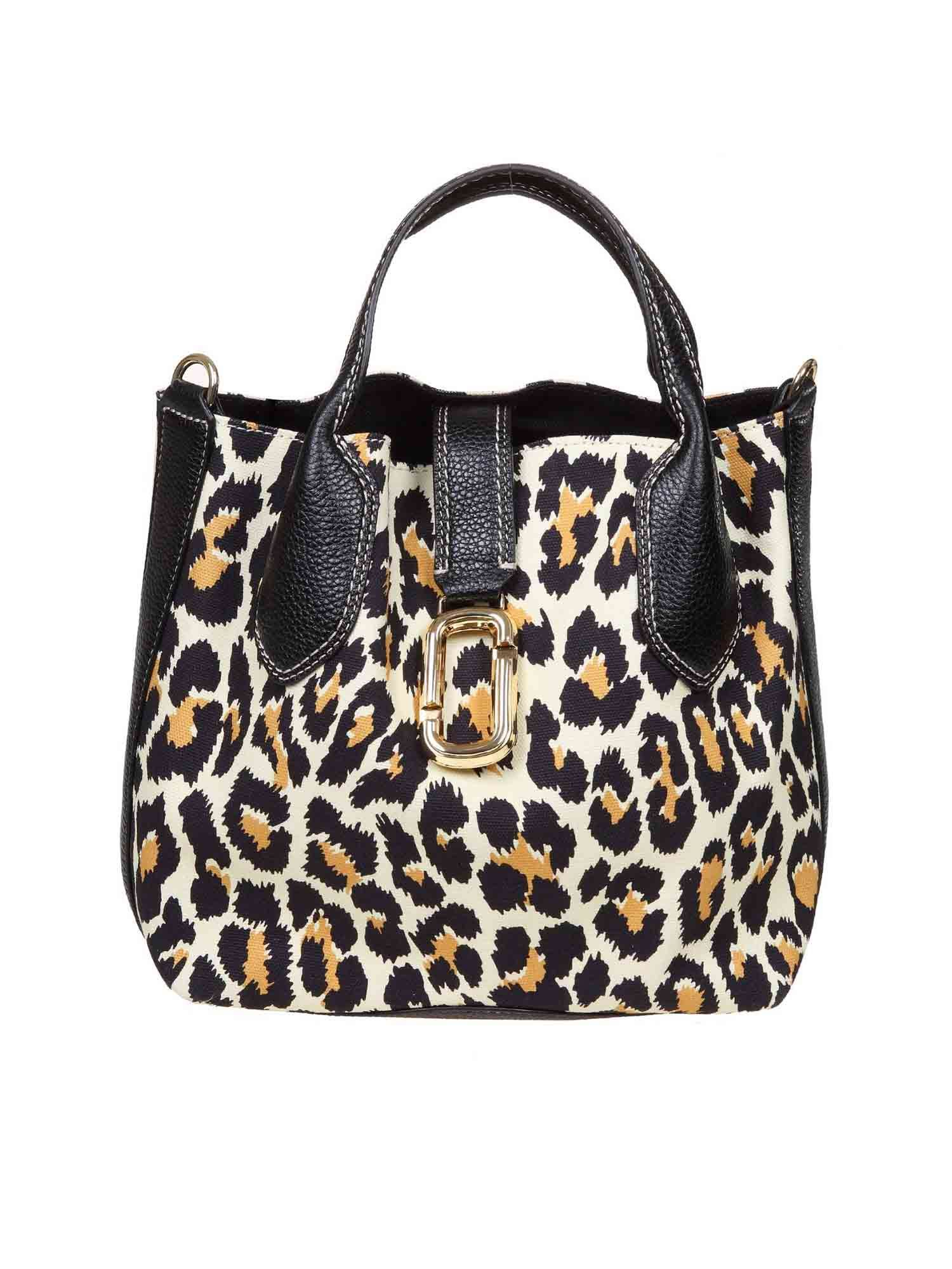 Marc Jacobs THE LEOPARD REPORTER ANIMALIER BAG