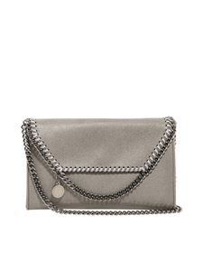 Stella McCartney - Falabella cross body bag silver
