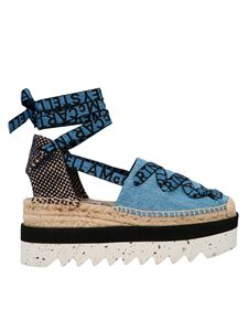 Stella McCartney - Gaia espadrilles in light blue