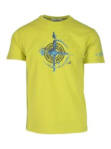 Stone Island - Marble One T-shirt in yellow
