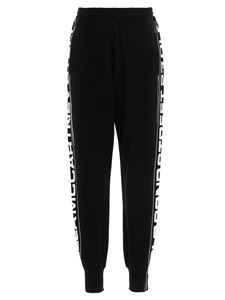 Stella McCartney - Logo band joggers in black