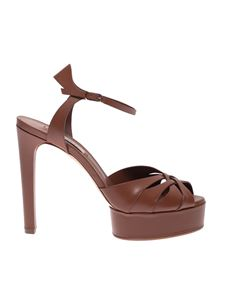 Casadei - Felina sandals in tan color