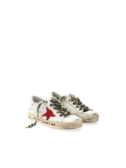 Golden Goose - Superstar Classic sneakers in white and silver