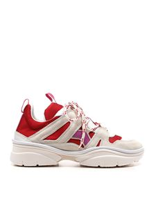 Isabel Marant - Kindsay sneakers in red and pink