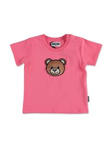 Moschino Kids - Teddy Bear T-shirt in fuchsia