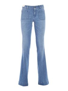 Re-HasH - Nilla flared jeans in blue