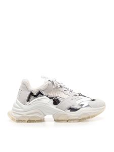 Moncler - Sneakers Leave No Trace bianche