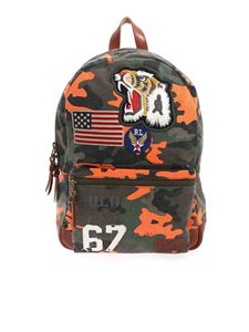 POLO Ralph Lauren - Camouflage print multicolor backpack