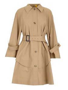 Moncler Genius - Dungeness Moncler JW Anderson trench coat in beige
