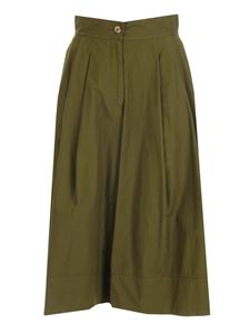 Moncler Genius - 1 Moncler JW Anderson culottes in green