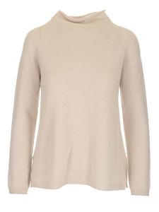S Max Mara - Turtleneck in ivory color