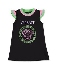 Versace Young - Medusa dress in black