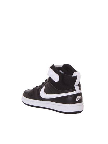 Nike - Court Borough Mid 2 sneakers in black