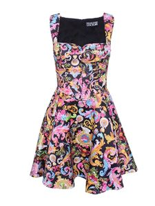 Versace Jeans Couture - Rococo printed dress