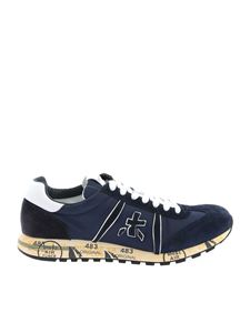 Premiata - Lucy sneakers in blue and white
