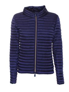 Save the duck - Puffed jacket in blue