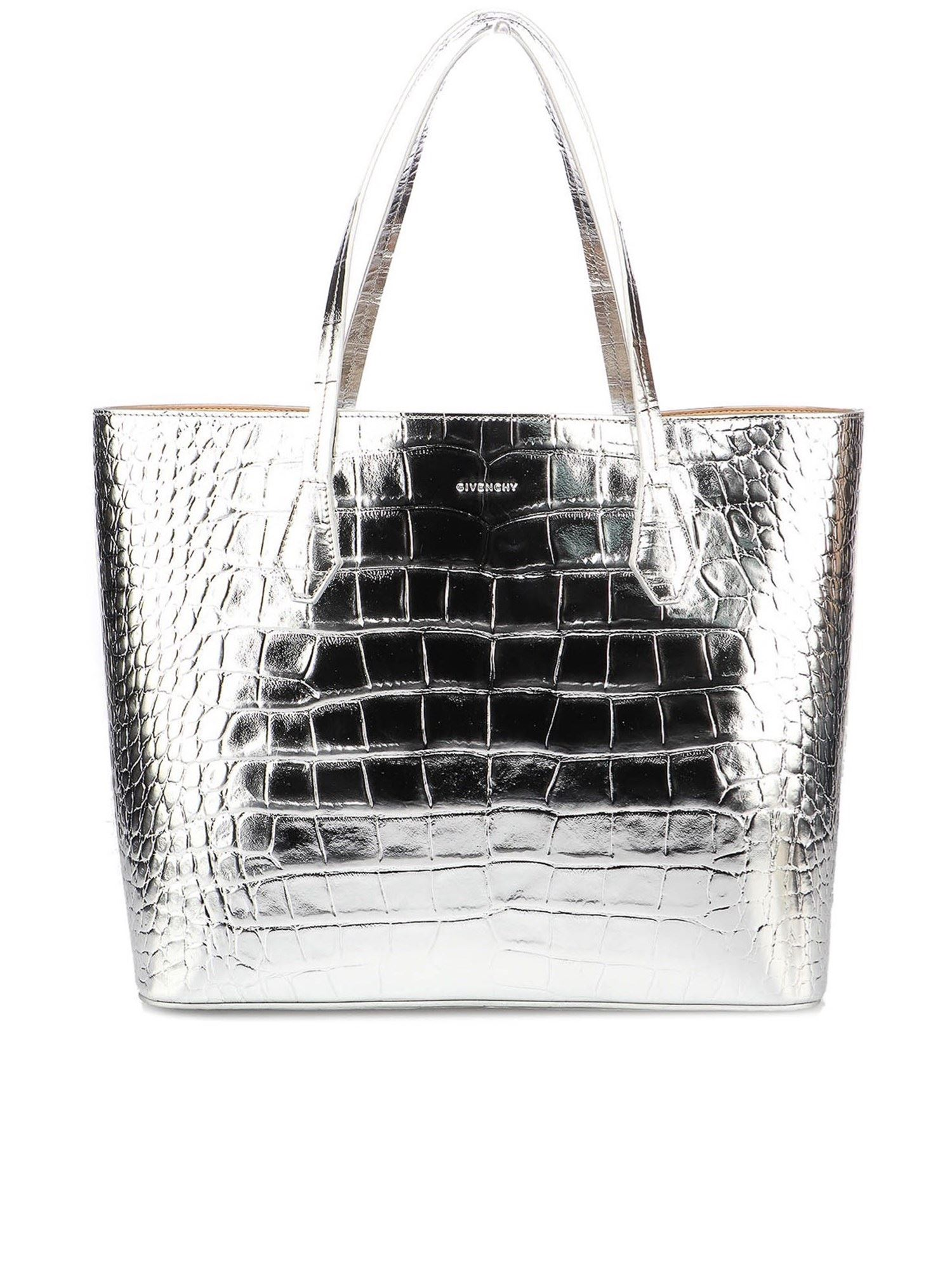 Givenchy WING SHOPPER BAG IN SILVER COLOR