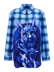 Burberry - Sea Maiden  shirt in blue